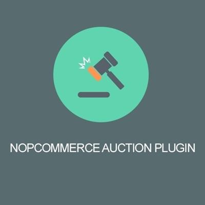 nopcommerce auction plugin